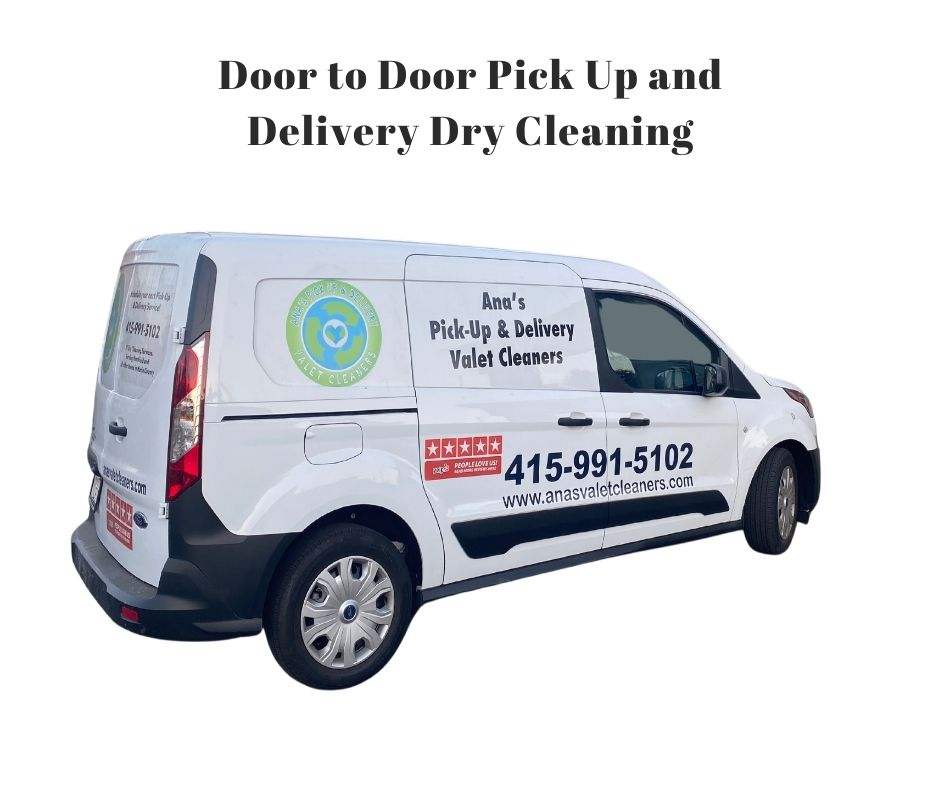 Pick Up and Delivery Door to Door Dry Cleaning Marin County