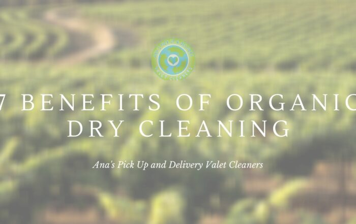 Benefits of Dry Cleaning