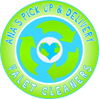 Ana's Valet Pick Up and Delivery Dry Cleaning Logo